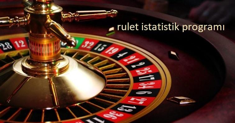 rulet istatistik programı nedir