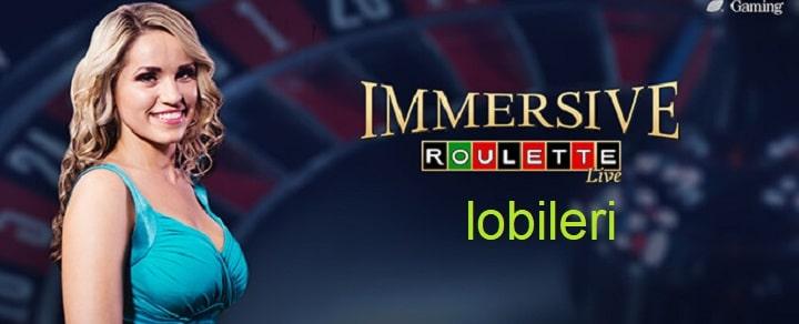 Immersive rulet lobisi oyunlari